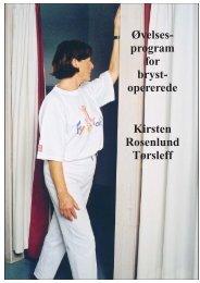 Øvelsesprogram for brystopererede - Danske Fysioterapeuter