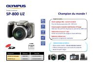 Olympus SP-800 UZ - Ubaldi
