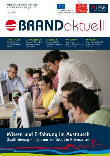 Wissen und Erfahrung im Austausch - LASA Brandenburg GmbH