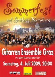 iwƒ‰Šw}B - Gitarren Ensemble Graz