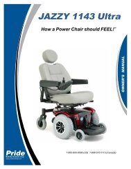 JAZZY 1143 Ultra - Pride Mobility Products