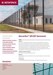 Securifor® 2D/2D Varimesh - Fagel