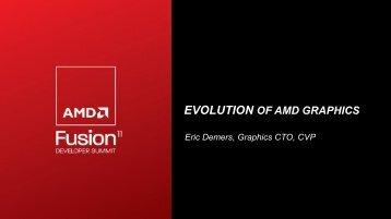 Evolution of AMD Graphics - AMD Developer Central
