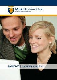 Bachelor International Business (German Track) - WiWi-Online