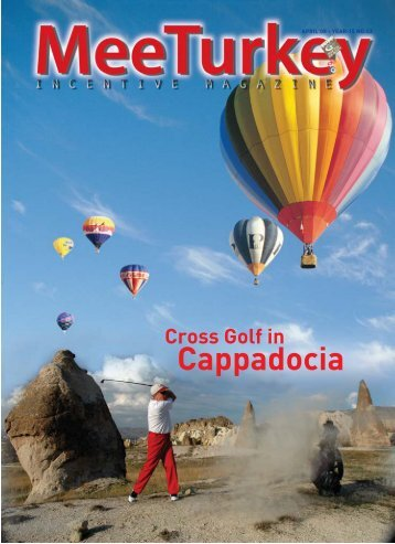 Cross Golf at Cappadocia - S&M Publication ltd