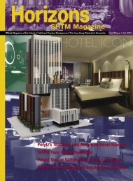 PolyU's Teaching and Research Hotel Named SHTM Tops World ...