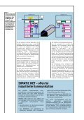 Schnell und sicher mit SIMATIC NET - CERN - Page 3