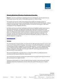 Ebiquity Marketing & Business Development Executive