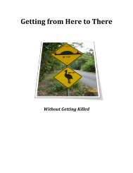 Getting from Here to There - Oswego