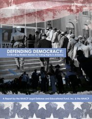 Defending Democracy - NAACP Legal Defense and Educational ...