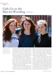 Girls Go to the Mat for Wrestling | By Mike Catano