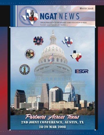 NGAT Magazine - Winter 2008 - National Guard Association of Texas