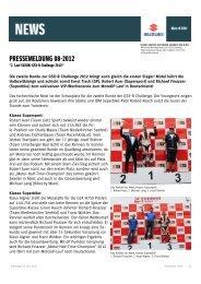 2. Lauf SUZUKI GSX-R Challenge 2012 - Zweirad Schuller