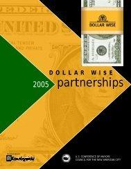 Dollar Wi$e Partnerships 2005 - U.S. Conference of Mayors