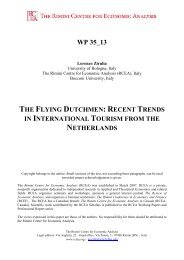 recent trends in international tourism from the netherlands