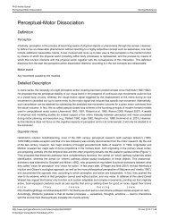 Perceptual-Motor Dissociation - Andrei Gorea