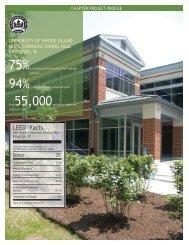 LEED Profile - University of Rhode Island
