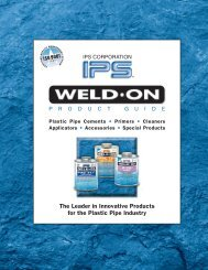 The Leader in Innovative Products for the Plastic ... - Plastic Systems