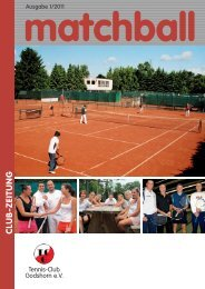Live Musik mit - Tennis Club Godshorn e.V.