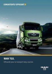 Brochure TGX - Man camions et bus
