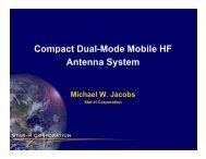 Mobile HF Antenna System