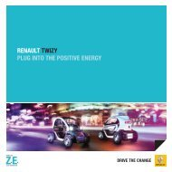 RENAULT TWIZY PLUG INTO THE POSITIVE ENERGY