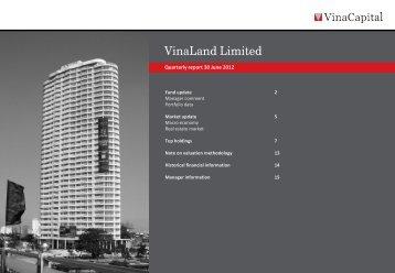 VNL Q2 2012 report - VinaCapital