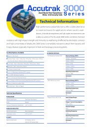 Accutrak 3000 - Process Valve Solutions Ltd