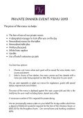 EVENT MENU SELECTOR 2011 - Best Western Wroxton House Hotel - Page 3