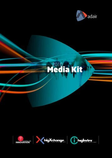 2010/11 Media Kit - Australian Innovation