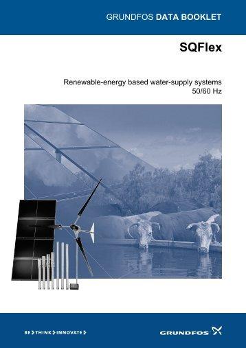 SQFLEX Data Booklet - Water Pump Suppliers