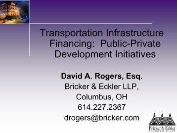 David A. Rogers, Partner, Bricker & Eckler LLP