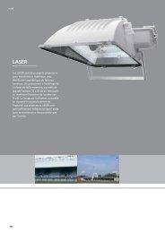 Les LASER sont de puissants projecteurs pour installation à l ...