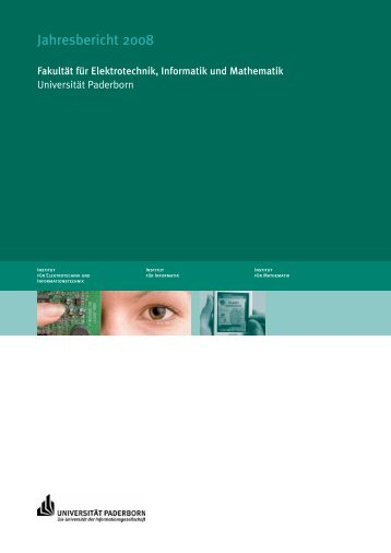 Jahresbericht 2008 - Fakultät für Elektrotechnik, Informatik und ...