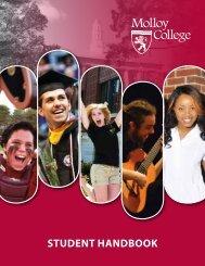 Molloy College handbook.