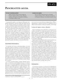 Pancreatitis aguda. Clínica. - sacd.org.ar