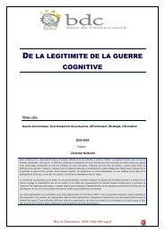 De la légitimite de la guerre cognitive - Base de connaissance AEGE