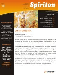 Spiriton Newsletter - ebooks - ISKCON desire tree