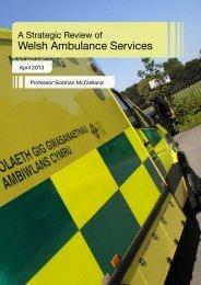 Welsh Ambulance Services - Senedd.assemblywales.org - National ...