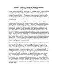 Orthotic Cranioplasty: Material and Design Considerations Joseph F ...