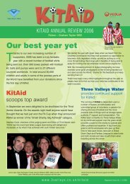 KitAid annual review 2006/07 - Affinity Water