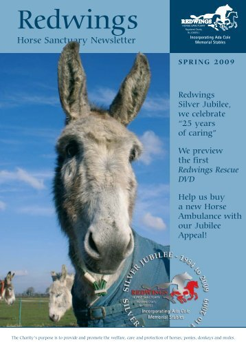 Spring Newsletter 2009 - Redwings