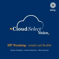 SIP Trunking - simple and flexible - Daisy Group plc