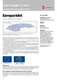 4-2012 Europarådet (Bokmål versjon) - Nei til EU
