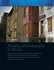 Poverty and Inequality in Illinois - Institute of Government & Public ...