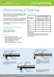 Efterisolering af fladt tag pdf - Videncenter for energibesparelser i ...