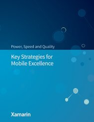 Key Strategies for Mobile Excellence