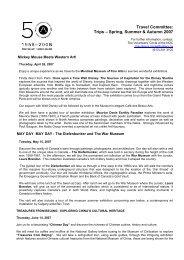 website summaries Feb 07 engl - National Gallery of Canada