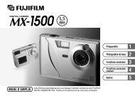 Digital Camera MX-1500 MODE D'EMPLOI
