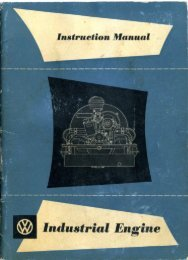 February, 1956 Industrial Engine Owner's Manual - TheSamba.com